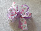 My Heart's Voice Hair Bow (Purple)