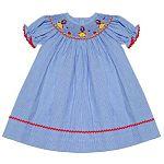 Smock Dress- Snow White