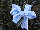 Beautiful Baby Blue Hair Bow
