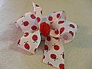 Lively,Lovely Ladybug Hair Bow