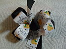 Fred and Barney  Halloween Spooky Special Hair Bow