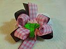 Made to Match Tulip Garden Narrow Hair Bow
